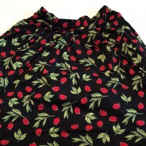 2xl Lularoe ladybug Madison skirt